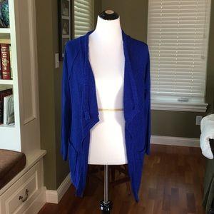 StitchFix sweater. Bright blue lightweight large